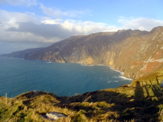 The massive coastal cliff formations called Slieve League were another sight we did not want to miss in Donegal.