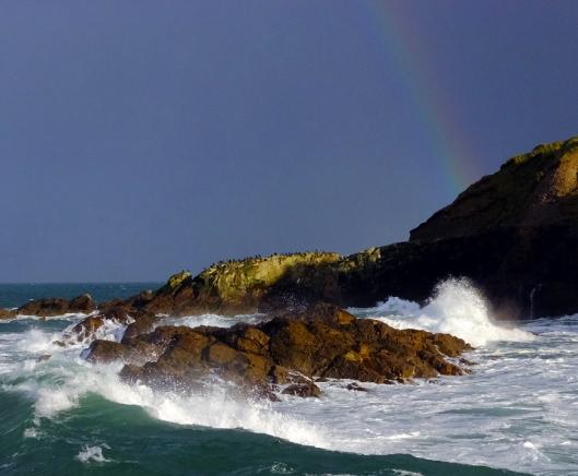 ...especially when accompanied by a rainbow!