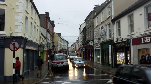 It was a rainy day in Sligo. I only managed to get a few photos with my cell phone camera.