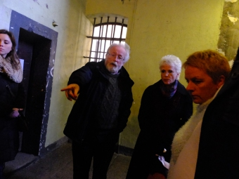 The tour of Kilmainham is a grim but fascinating telling of the horrible story of this place.