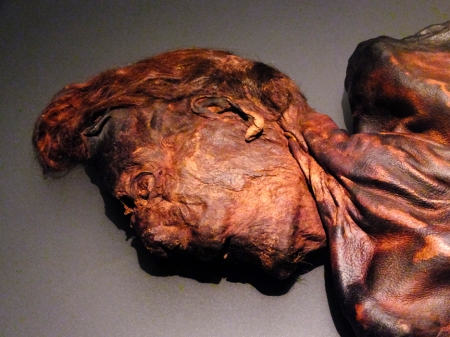 Here too are some of Ireland's bogmen, accidentally preserved for centuries and then discovered as peat was harvested. Clonycavan Man is from the Early Iron Age, 400-200 BC.