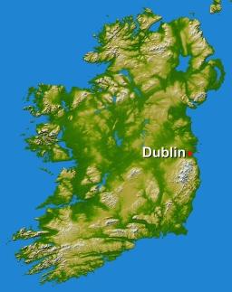 Dublin-Map