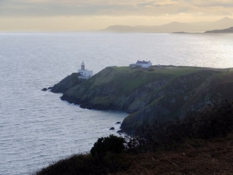 Another view of the Howth Head light.