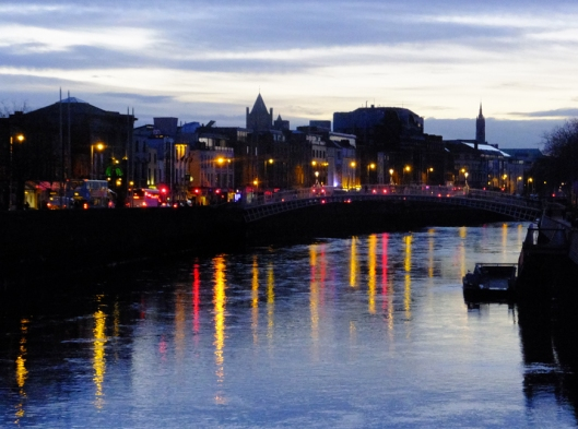 The River Liffey bisects the city, and helps give Dublin its distinct identity and charm. It also helps orient visitors to the location of the streets and neighborhoods they want to visit.