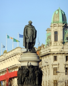 In Dublin, Ireland's national heroes, like Daniel O'Connell, known both as the Great Liberator and the Great Emancipator, are given their glorious places of honor. See more about O'Connell later in this post.