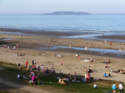 Portmarnock has a very fine beach. This shot was taken in July 2014, when we stayed here at the beginning of this journey, laying over for two days en route to Amsterdam.