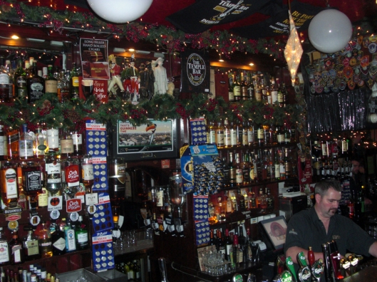 This is the pub in Temple Bar called... The Temple Bar.