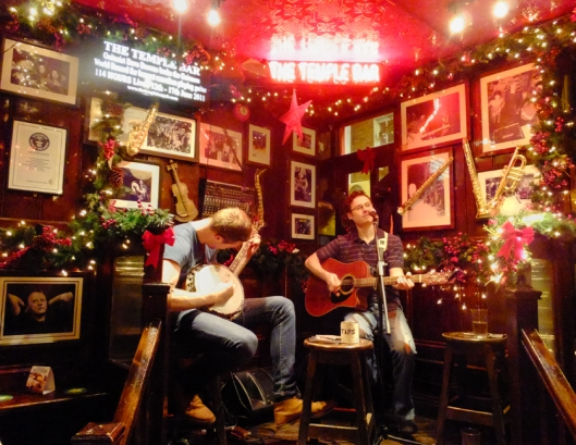 Most of the pubs in Temple Bar feature live music almost every night.