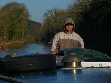 Rick at the tiller--P1970446